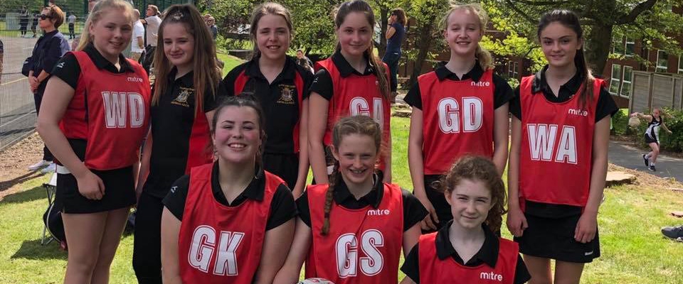 Alcester netball team image 2